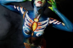 Body painting Faenza 2017